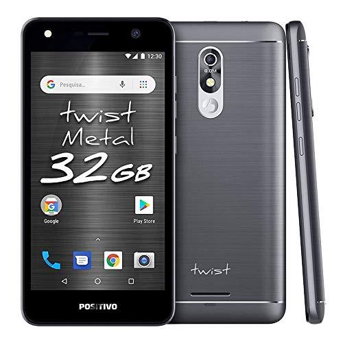 Smartphone Positivo Twist Metal S532 32GB Dual Chip 5.2' - Cinza
