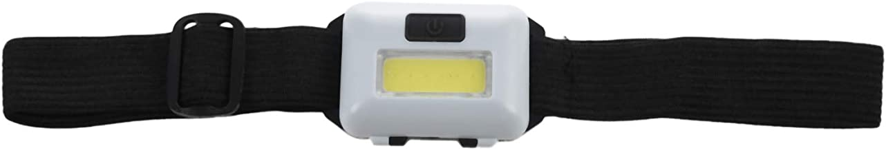 Cobeky Cob Led hoofd lamp Koplamp 3 Modi Regendicht Hoofd Zaklamp Zaklamp Hoofd Voor Outdoor Camping Vissen Wit