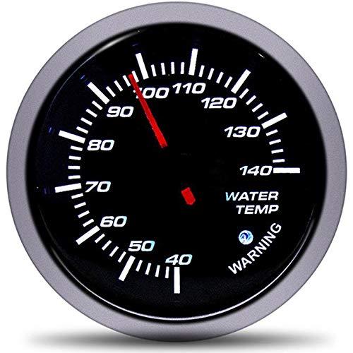 no-branded Kraftstoffanzeige Wagen Spur 60mm Auto WasserTemp Gauges Fahrzeug Meter 12V Automobil-Temperatursensor Temperatura Wasserstand CGFEUR