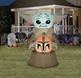 Star Wars The Mandalorian The Child Baby Yoda Halloween Airblown Inflatable