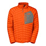 The North Face Men's Thermoball Pullover, Burnished Orange, XL