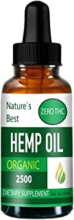 Hemp Oil for Pain Relief- 2500mg * Buy 2 Get 1 Free- Helps Stress, Anxiety, Sleep Problems- Natural Anti Inflammatory -.Results Guaranteed!!