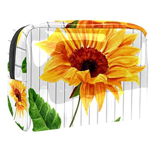 Trousse de toilette de voyage étanche Motif fleurs tropicales et oiseaux Multicolore Couleur 5 18.5x7.5x13cm/7.3x3x5.1in