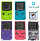 GameBoy Color Konsole (Farbe nach Wahl) + GRATIS SPIEL -