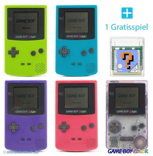 GameBoy Color Konsole (Farbe nach Wahl) + GRATIS SPIEL
