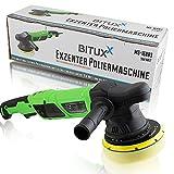 BITUXX Exzenter Autopoliermaschine Poliermaschine Polierer mit elektronischer Drehzahlregelung 950W