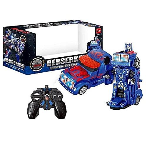Caminhão Controle Remoto Transformers Som E Luz Caminhão de Controle Remoto Robô De Controle Remoto