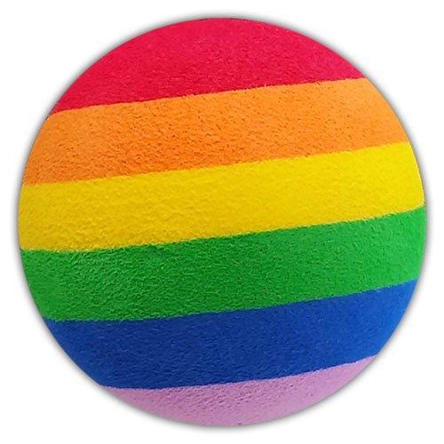 Tenna Tops Rainbow Pride Car Antenna Topper/Antenna Ball/Auto Mirror Dangler/Desktop Bobble Buddy