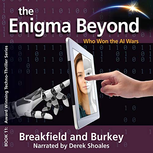 The Enigma Beyond Audiobook By Charles Breakfield, Rox Burkey cover art