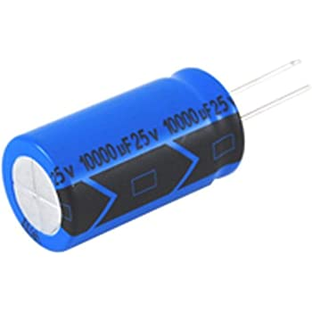 20/% Tolerance 2200 /µF Capacitance 105 Degree Max Temp 63V Inc. Radial Lead NTE Electronics VHT2200M63 Series VHT Aluminum Electrolytic Capacitor
