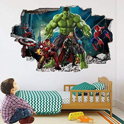 HUAXUE Wall Art Sticker Mural Sticker Spider