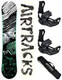 Airtracks Snowboard Set - TAVOLA STEEZY Wide 155 - ATTACCHI Master L - SB Bag...