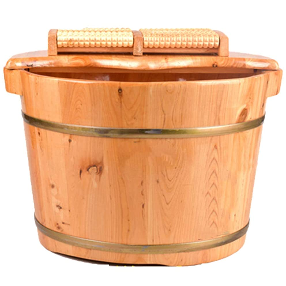 まつげサンドイッチ外観ペディキュア盆地,軽量の木製家庭の木製の樽の足湯バスソリッドウッドの木管大人のトランペット