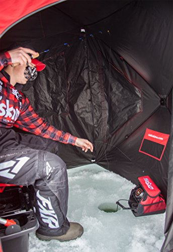 Eskimo EVO IT Portable Flip Style Insulated Ice Shelter with Pop Up Hub Sides (1 or 2 Person)