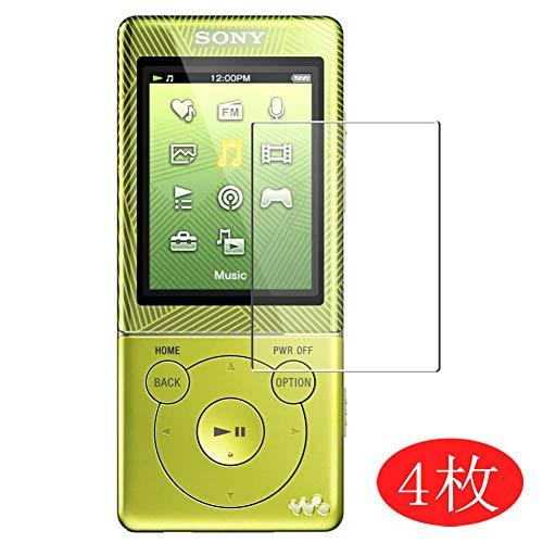 Vaxson 4 Stück Schutzfolie kompatibel mit Sony Walkman NWZ-E474, Displayschutzfolie Bildschirmschutz Blasenfreies TPU Folie [Nicht Panzerglas]