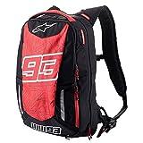 Alpinestars Men's MM93 Jerez V2 Backpacks,One Size,Black/Red