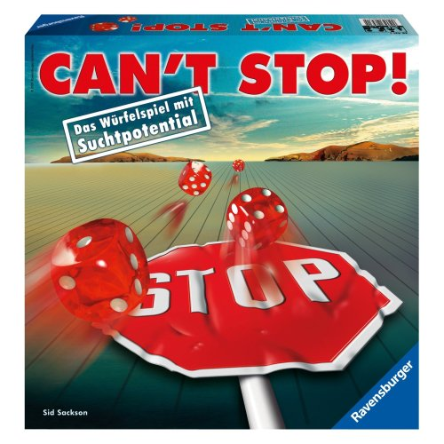 Ravensburger - 26431 - Jeu de société 'Can't Stop!'