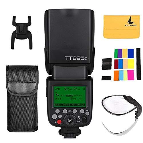 Godox TT685C TTL Flash per fotocamera Speedlite 2.4G HSS 1 /...