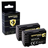 PATONA 2X Protect Bateria DMW-BLF19E, Sensor de Temperatura NTC, Carcasa V1 Compatible con Panasonic Lumix DMC-GH3 DMC-GH3A DMC-GH4