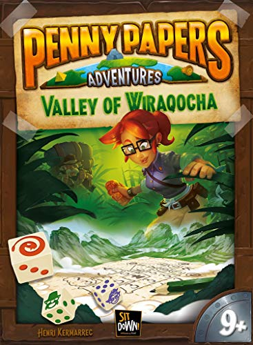 Sit Down! SDGPPA003 Penny Papers Adventures: The Valley of Wiraqocha, Multicolor