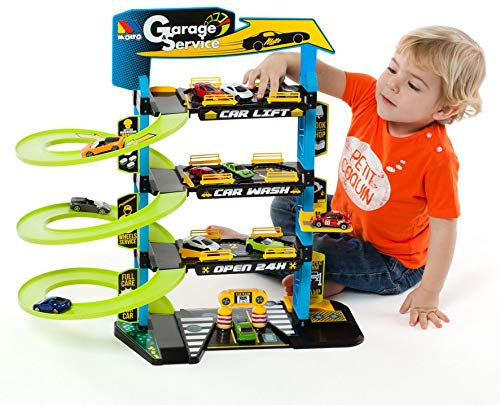 Parking Infantil con 4 Plantas