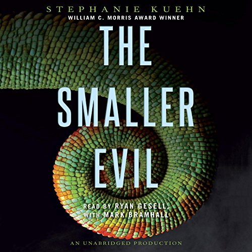 The Smaller Evil                   By:                                                                                                                                 Stephanie Kuehn                               Narrated by:                                                                                                                                 Ryan Gesell,                                                                                        Mark Bramhall                      Length: 7 hrs and 23 mins     1 rating     Overall 1.0