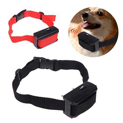 autone Pet Control Antibellhalsband, Elektroschock Training Stop Bellen Hunde Welpen NEU, Schwarz
