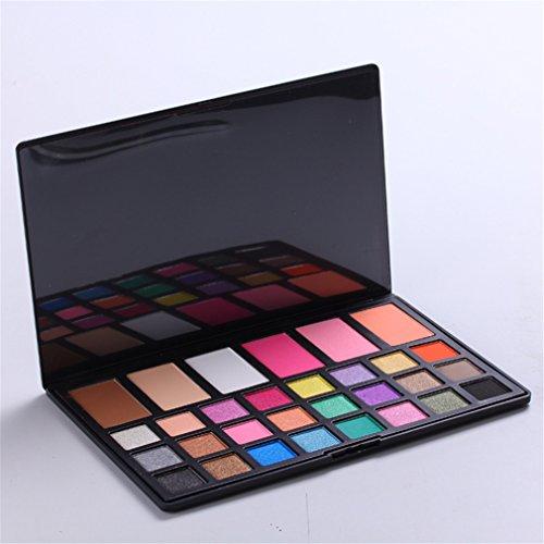 Pure Vie® 30 Colores Sombra De Ojos Corrector Rubor Paleta de Maquillaje Cosmética #3 - Perfecto para Sso Profesional y Diario
