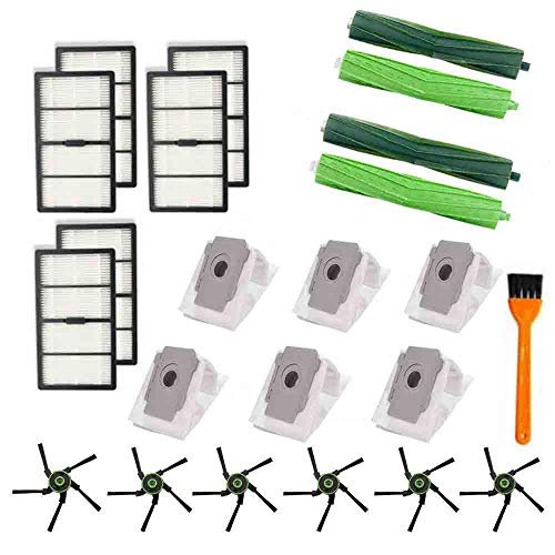 B-life 2 Main Brush Roller 6 Replacement Filters 6 Side Brushes for iRobot Roomba s9 (9150) s9+ s9 Plus (9550) s Series Wi-Fi Connected Robot Vacuum Cleaner