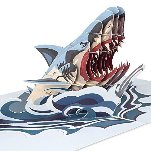 PaperCrush Pop-Up Karte Hai [NEU!] - 3D Geburtstagskarte für Jugendliche, Teenager oder Männer - Besondere Glückwunschkarte zum Geburtstag von Vater, Bester Freund