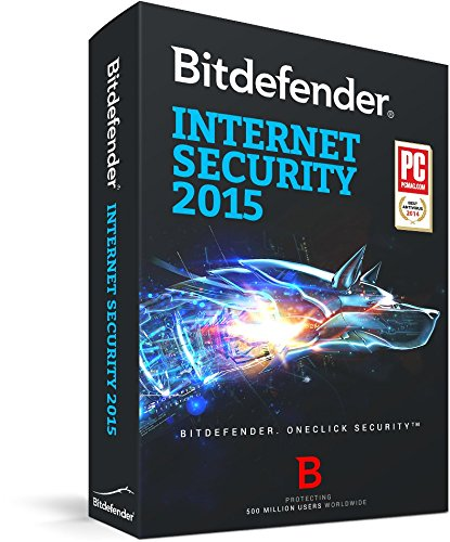 Bitdefender Internet Security 2015 - 1 year - 1 user [import anglais]