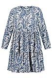 Studio Untold Kleid mit Knopfleiste, Print Vestido, Azul Claro, 56 ES para Mujer