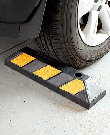 Heavy-Duty Parking Curb Branded goods Makes Garage A Breeze Super beauty product restock quality top
