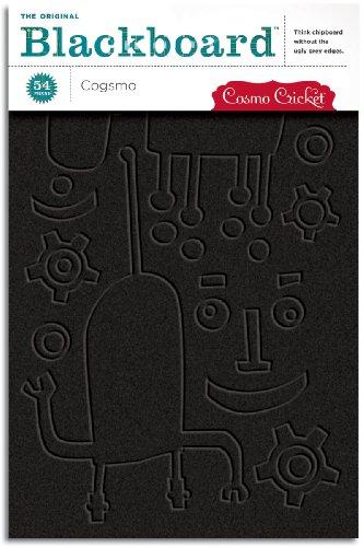 Cosmo Cricket Tafelformen 3 mm 21,6 cm x 14,7 cm Blätter, 4 Stück pro Package-Cogsmo 54 Stück