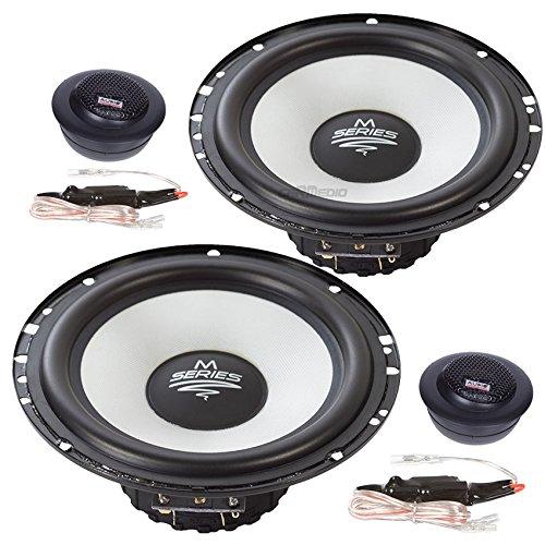 Opel Meriva A (03-10) Audio System Flach Lautsprecher 165mm Kompo Vordere Türen