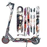 SMILEQ Accesorios de Bicicleta Scooter eléctrico de Cuerpo Entero Pegatinas Cinta Paster Antideslizante For Xiaomi Mijia M365 Pro (B)