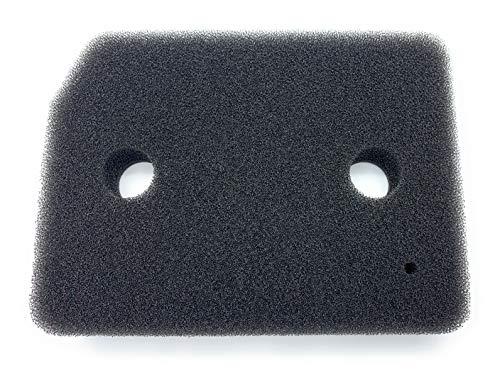 Filter für Miele 9164761 Trockner Wärmepumpentrockner | Fein-Grob | 207 x 157 x 30mm | Schwammfilter Filtermatte Kondenstrockner Fusselfilter Schaumstoff Schaumfilter Sponge (1 Stück)