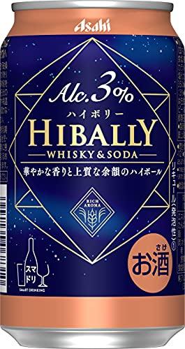 【アルコール3%/ニッカ社原酒使用】アサヒ ハイボリー 350ml×24本