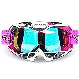 Polarized Sport Motorcycle Motocross Goggles ATV Racing Goggles Dirt...