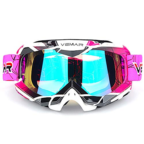 Ubelly Polarized Sport ATV Racing Goggles