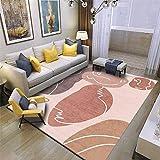 La alfombras Alfombra bebé El Agua de Alfombra geométrica Blanca Gris roja se Lava la Sala de Estar Suave y Sucia alfombras Salon Alfombra Bebe 100*160cm