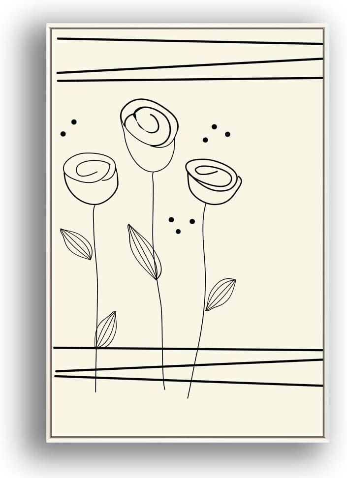 wall26 Framed Ranking TOP11 Canvas Wall Art Beautiful P Flowers Austin Mall in Grid Giclee