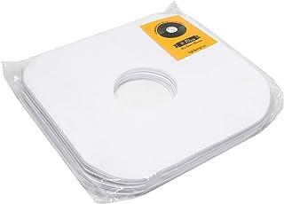 Big Fudge Fundas Premium para Discos de Vinilo 33 RPM | Kit Protector en Premium | Estuches Interno de 12 Pulgadas - Antirayaduras y Antiestático | 50 Unidades para Vinilos - Calibre 3 mm - 12
