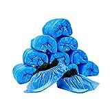 JIAQUAN 100 Pack (50 Pairs) Disposable Plastic Shoe...