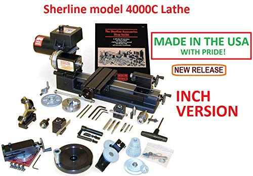 Why Should You Buy Sherline 4000C INCH Version 8 Lathe + The C Package. (CNC Upgrade not Included b...