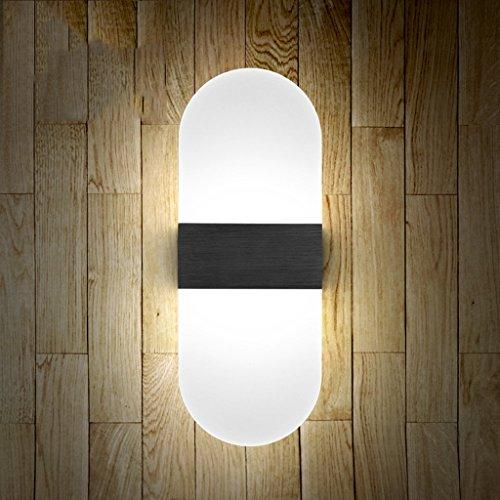 Lampe de mur Chambre à coucher Lampe de chevet Balcon Salon Escaliers Lumières (couleur : F)
