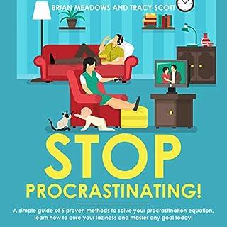Stop Procrastinating! audiobook cover art