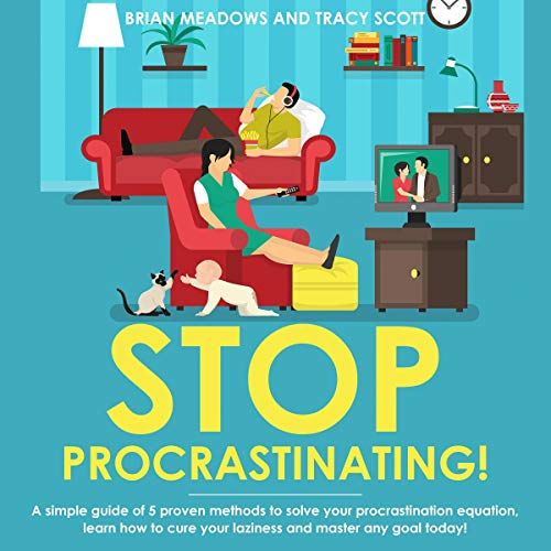 Stop Procrastinating! audiobook cover art