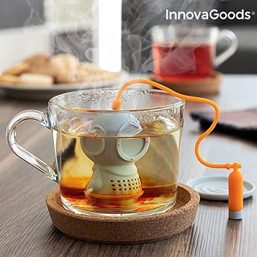 InnovaGoods IG814830 Infusore da tè in silicone Diver·T