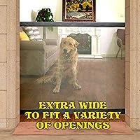 Magic-Gate Dog Pet Fences ポータブル Folding Safe Guard Indoor and アウトドア Protecti